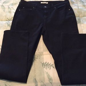 Levi's 505 Straight Jeans - Black
